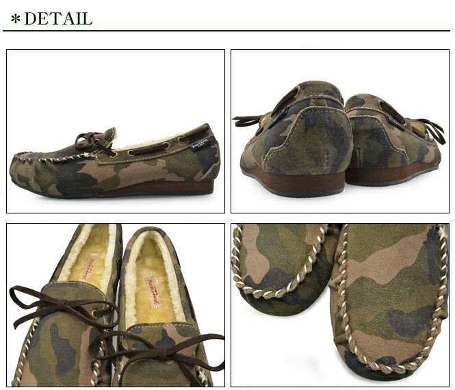 Bump N' GRIND バンプ アンド グラインド 2110 メンズ モカシン シューズ 本革 スエード 靴 MENS MOCASIN SHOES SUEDE 迷彩柄 カモフラージュ CAMOUFLAGE ブランド