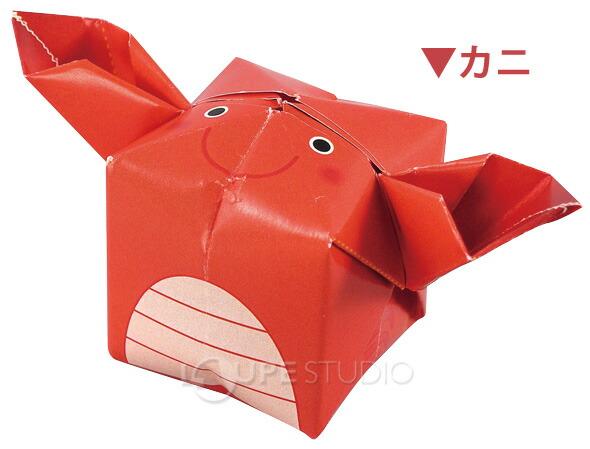 クリスマス 折り紙:折り紙 カニ-item.rakuten.co.jp