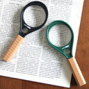 50 54% of magnifying glass racket loupe magnifying glass Ikeda lens magnifying glass magnifying glass loupe OFF