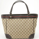GUCCI Gucci 257061 FFKPG 9791 GG canvas tote bag