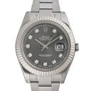 ROLEX Rolex Datejust II 116334G grey men