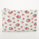 361385 Cath Kidston Cath Kidston ZIP PURSE CREAM porches