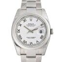 ROLEX Rolex Datejust 116200 white mens