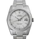 116200 ROLEX Rolex date just silver men