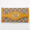 282434 9779 GUCCI gucci FAFXG GG canvas Sioux keys long wallet