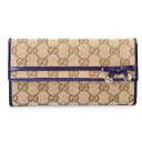 258405 9764 GUCCI gucci F4C2G GG canvases long wallet