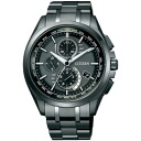 CITIZEN citizen AT8044-56E atessa eco-drive radio clocks world time mens