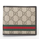 138086 9791 GUCCI gucci KGD8R GG +2 fold wallet