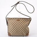 GUCCI Gucci 337598 F4CSN8527 GG canvas shoulder bag