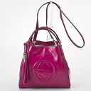 336751 5523 GUCCI gucci AB80G leather Soho handbags