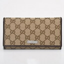 244946 9643 GUCCI gucci F40IG GG canvas long wallet P12Sep14