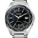 Citizen ATD53-3091 アテッサエコドライブ radio time signal black clockface men