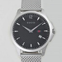 GUCCI Gucci YA126308 G timeless black mens