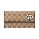 251861 9643 GUCCI gucci FAFXG GG canvases long wallet
