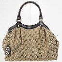 GUCCI Gucci 211944 FAFXG 9643 GG canvas handbags