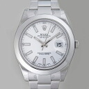 ROLEX Rolex Datejust II 116300 white mens