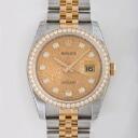 ROLEX Rolex Datejust 116243 G champagne gold computer memory men's