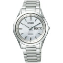 CITIZEN citizen AT6030-51 A EXCEED exceed eco-drive radio watch mens