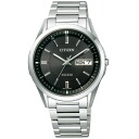 CITIZEN citizen AT6030-51E EXCEED exceed eco-drive radio watch mens