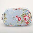 360913 Cath Kidston Cath Kidston Make Bag Trailing Floral/Blue makeup porches which improve