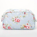 360937 Cath Kidston Cath Kidston Cosmetic Bag Trailing Floral/Blue makeup porches