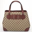 GUCCI Gucci 296850 F4CKG8566 GG canvas tote bag