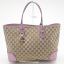 GUCCI Gucci 269956 f4c2g 9799 GG canvas tote bag