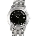 5505 GUCCI gucci YA055504 # diamond black Lady's