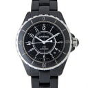 CHANEL Chanel H0685 black J12 mens 38 mm