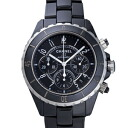 CHANEL Chanel H0940 black J12 men's 41 mm