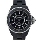 CHANEL Chanel H1626 black J12 mens 38 mm