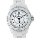 Men's White CHANEL Chanel H0970 J12 38 mm