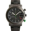 101 GUCCI gucci YA101331 # chronograph black men