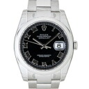 ROLEX Rolex Datejust 116200 black mens