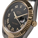 2 116333 ROLEX Rolex date just black men