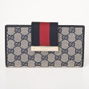 181672 4080 GUCCI gucci FWCZG GG canvases long wallet
