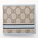 GUCCI Gucci 138073 KGDNR 8877 GG Supreme two bi-fold wallet