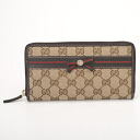 307995 9791 GUCCI gucci FFKPG GG canvas MAYFAIR Mayfair long wallet