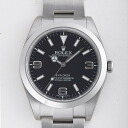 1 214270 ROLEX Rolex Explorer black men