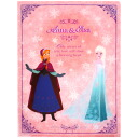 Disney Ana and the snow Queen clear file A4 double Elsa & Anna pink ☆ Ana and snow Queen stationery series ★