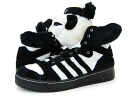 adidas JS PANDA BEAR adidas Jeremy Scott Panda bear BLACK/WHITE
