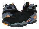 NIKE AIR JORDAN 8 RETRO Nike Air Jordan 8 retro BLACK/BRIGHT CITRUS/GREY/DEEP ROYAL fs3gm