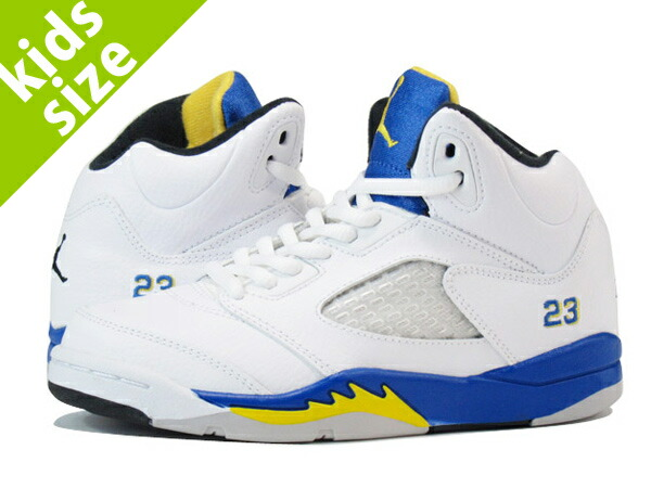 jordan 5 blue yellow