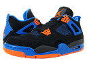 NIKE AIR JORDAN 4 RETRO CAVS Nike Air Jordan 4 retro Cavs BLACK/S.ORANGE/G.ROYAL