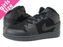 NIKE AIR JORDAN PHAT GS Nike エアージョーダン 1 Phat GS BLACK/BLACK