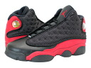 NIKE AIR JORDAN 13 RETRO GS Nike Air Jordan 13 retro GS BLACK/RED