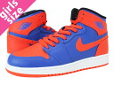 NIKE AIR JORDAN 1 RETRO HIGH OG GS Nike Air Jordan 1 retro high GS OG BLUE/ORANGE/WHITE