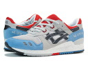 3 Asics GEL-LYTE III Asics gel light GREY/BLUE/RED