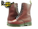 Dr.Martens 1490Z 10EYE BOOT 10092600 Dr. Martens 10 eyelet boots CHEERY RED