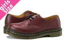 Dr.Martens 1461 W 3 EYE GIBSON SHOES R11837600 Martens 3 eyelet Gibson shoes CHERRY